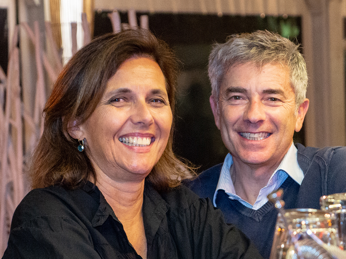Gilles und Pascale Pons