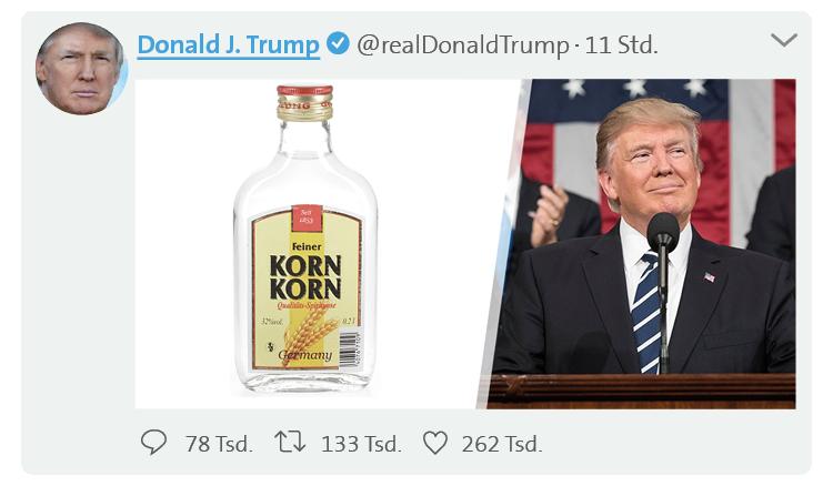 Twitter Trump - Korn